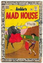 Archie's Madhouse #34 1964-First bordered cover-SCI-FI-PARODY - $25.22