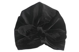 Hot rabbit ear velvet beanies baby hat fashion Bohemia Style Solid Color... - £8.79 GBP