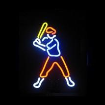 """Baseball Player Neon Sculpture Sign  17"""" x 9"""" - $89.99"""
