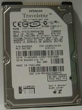 "NEW 80GB 7200RPM IDE 44PIN 2.5"" 9.5MM hard drive HTS721080G9AT00 Hitachi"