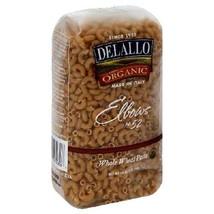 De Lallo Elbows Whole Wheat Pasta #52 (16x1 LB) - $84.17