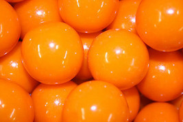 Gumballs Orange 25mm Or 1 Inch (114 Count), 2LBS - $18.80