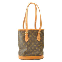 LOUIS VUITTON Monogram Bucket PM Shoulder Bag M42238 LV Auth sa2271 **Sticky image 1