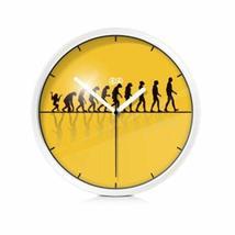PANDA SUPERSTORE 8-inch Simple Design Decorative Wall Clock¡ª¡ª(Human Developmen - $34.14