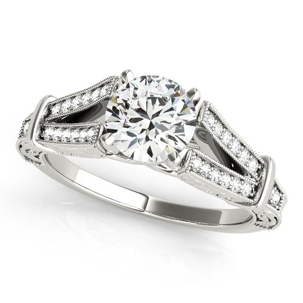 Diamond engagement ring 50785 e