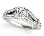 Diamond engagement ring 50785 e thumb155 crop