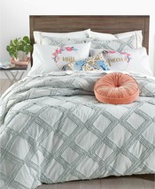 Whim by Martha Stewart Collection Chenille Trellis 2-Pc. Twin/Twin Xl Comforter - $60.48