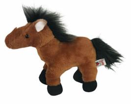 "Ganz Webkinz Plush Brown Arabian Horse HM101 Stuffed Animal 9""  - $18.81"