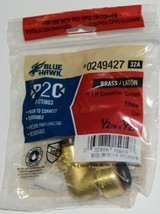 Blue Hawk 0249427 P2C PF X PF Connection Brass Elbow Fitting image 1