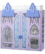 Frozen 2 Castle Of Arendelle Laptop Foldable Dolls Elsa And Anna Included - $317.14