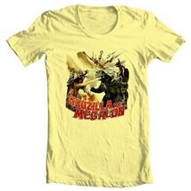 Godzilla vs Megalon t-shirt vintage old style retro sci fi film free shipping image 1