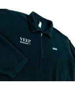 Patagonia Synchilla Black 1/4 Zip Pullover Veep TV Show Julia Louis-Drey... - $49.99