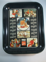 Coca-Cola Vintage 1982 Calendar Tray Coke Logo Multiple Ad Images - $4.95