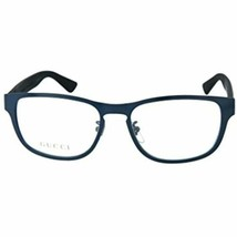 NEW Gucci GG0175O 003 Blue & Matte Black Eyeglasses 54mm with Gucci Case - $193.00