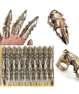 5Pcs/Lot Gothic Punk Hinged Knuckle Joint Full Finger Spike Armor Rings ... - £15.48 GBP