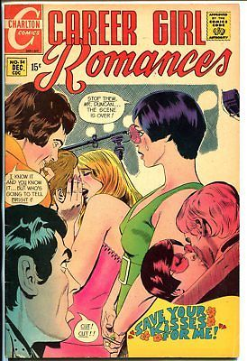 Career Girl Romances #54 1969-Charlton-Circus girl-high grade copy-glossy-VF