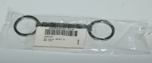 Casa DOro 7010 Doubled Ended Italian Charm Key Chain Stainless Steel