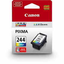Genuine Canon PG-243 Black and CL-244 Color Ink Cartridge. NEW - $32.56