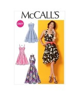 "McCall Pattern Company M6956 Misses' Dresses and Belt, Size A5 ""6-8-10-1... - $14.21"
