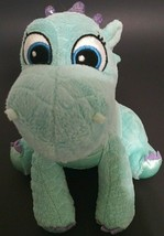 "Sofia the First Cuddly Royal Friends Crackle Dragon Plush 8"" Turquoise - $9.87"