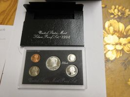 1994 U.S. Mint Silver Proof Set , Lot of 5 , New In Original Mint Package image 3