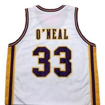 Shaquille O'Neal #33 College Basketball Jersey New Sewn White Any Size image 5