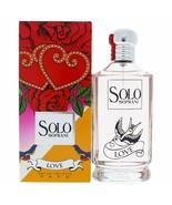LUCIANO SOPRANI SOLO LOVE-WOMEN-EDT-SPRAY-3.4 OZ - $23.76