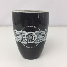 Harley Owners Group Black Coffee Tea Hot Cocoa Mug Cup M* - $7.20