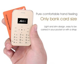 Ultra Thin Card Mobile Phone AIEK/AEKU X8 - $25.00