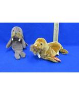TY Beanie Babies Plush Original Stuffed Animals 1996 Jolly & 1999 Paul L... - $12.22