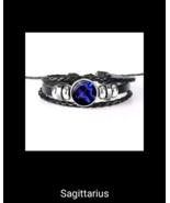 12 Constellation Luminous Bracelet Men Women Leather Bracelet Charms Bra... - $7.20