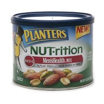 Planters NUT-rition Men's Health Mix, Almonds, Peanuts & Pistachios 10.2... - $24.74