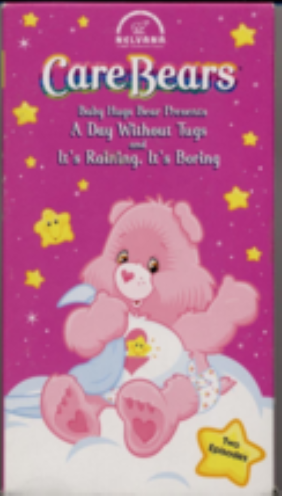 Care Bears #8: Baby Hugs Bear Presents - A Day Without Tugs and It's Raining Vhs