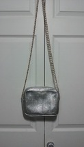 Victoria's Secret Small Silver Purse - $16.00