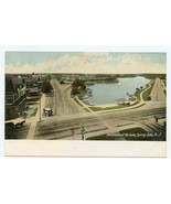 Panorama of the Lake UDB Postcard Spring Lake New Jersey - $17.87