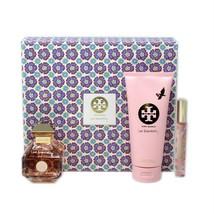 Tory Burch Love Relentlessly 3 Piece Gift Set Eau De Parfum Spray 100ML Nib - $98.51