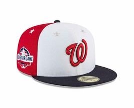New Era Washington Nationals 2018 MLB All-Star Game On-Field 59FIFTY HAT... - $39.99