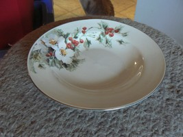 Gibson Yule Tide soup bowl 6 available - $1.63