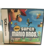 Nintendo DD Super Mario Brothers Case and Manual  Only NO GAME - $7.89