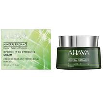 Ahava Mineral Radiance Night Cream De Stress 50ml - $102.00