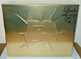 Paco Rabanne Lady Million Gift Box Set Edp 50ml + Lotion 75 Ml - $86.11