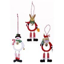 Santa Hanging Tree Claus Snowman Xmas Christmas Elk Ornament Decor Ornam... - $5.99