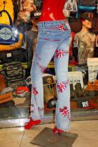 Women's Pepe Jeans British Stone Blue Denim Pants - $98.00