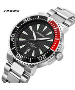 SINOBI® Men Wrist Watch Luxury Waterproof Steel Watchband Geneva Quartz ... - $39.36