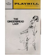 """The Plymouth Theatre Playbill """"The GINGERBREAD LADY"""" May 1971 - $3.00"""
