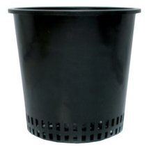 "Hydrofarm HG6MESHPOT Round Mesh Bottom, 6-Inch, Bag of 50 Pot, 6"" - $80.67"