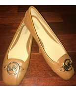 NWOB Michael Kors Fulton Loafer Leather Brown Flats Shoes sz 9 - $89.99