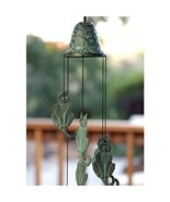 Wind Chime - Patio Decor Cat Themed Brass Wind Chime - $41.58