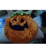 Adorable pumpkin costume for a dog size Large - $10.50