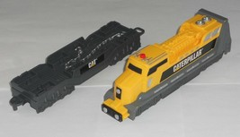 Toy State CAT Caterpillar Yellow & Grey Battery Operated Engine & Car - $5.00